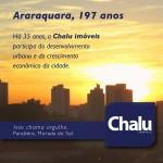 Araraquara 197 anos